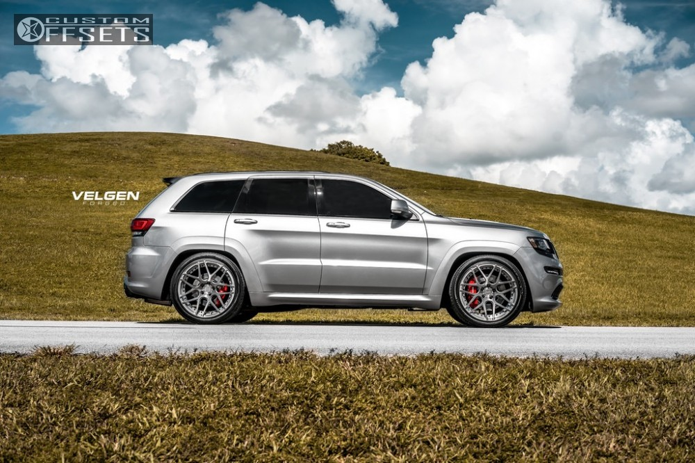 Wheel Offset 2016 Jeep Grand Cherokee Flush Lowering Springs