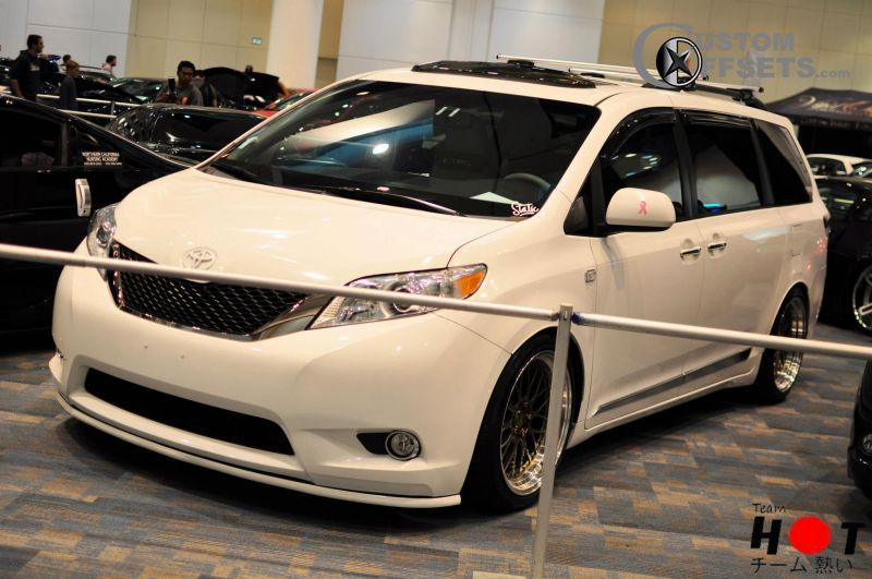 2011 toyota sienna vossen cv1 lowered adj coil overs for Should i buy a toyota sienna or honda odyssey