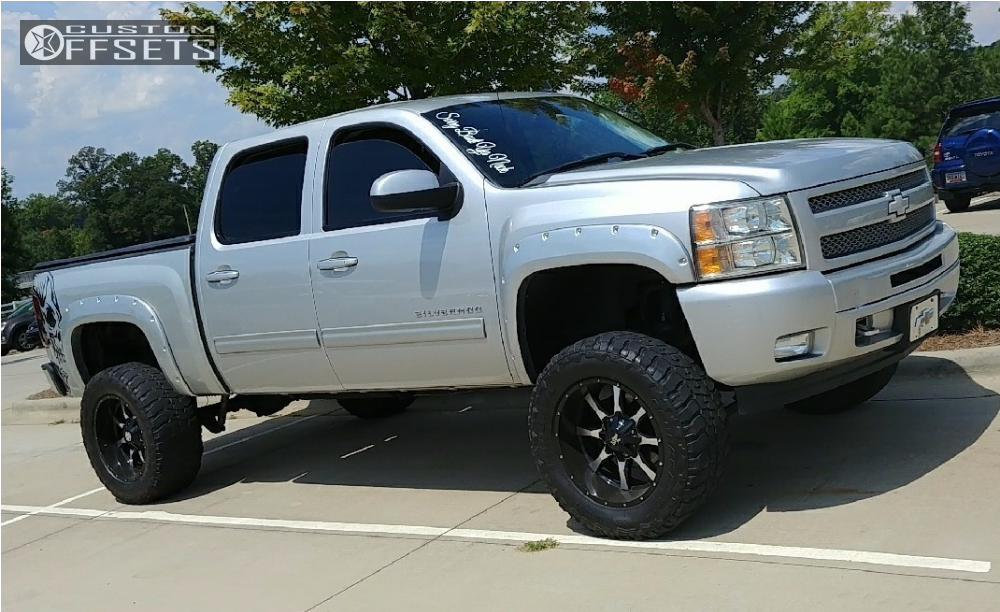 6 Inch Lift Kit For Chevy 1500 4wd >> 2010 Chevrolet Silverado 1500 Moto Metal Mo970 Rough Country Suspension Lift 6in