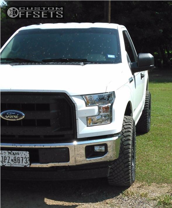 1 2017 F 150 Ford Zone Leveling Kit Ballistic Morax Black