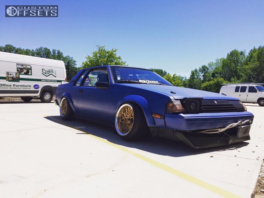1985 Toyota Celica Ssr Formula Mesh Bc Racing Coilovers