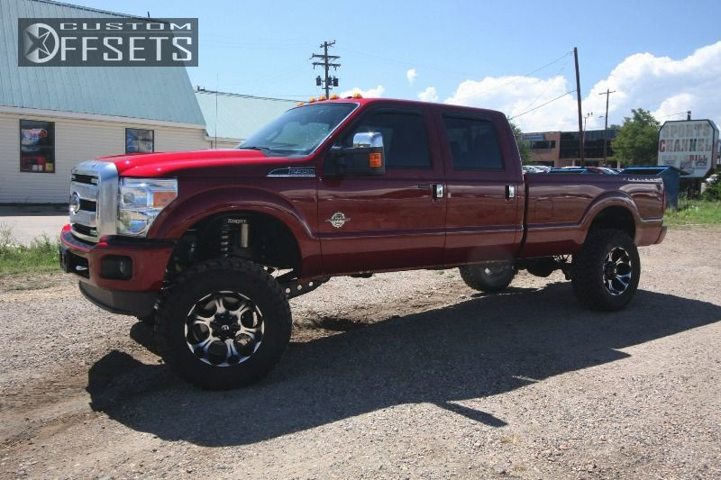 2013 ford f 350 super duty fuel dune suspension lift 6in proryde