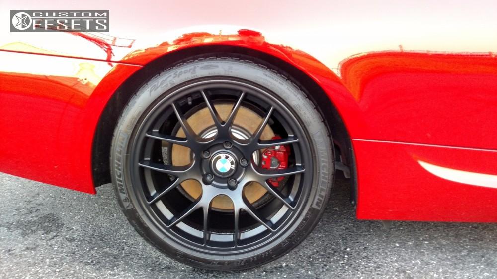 Wheel Offset 2013 Bmw 335is Nearly Flush Stock
