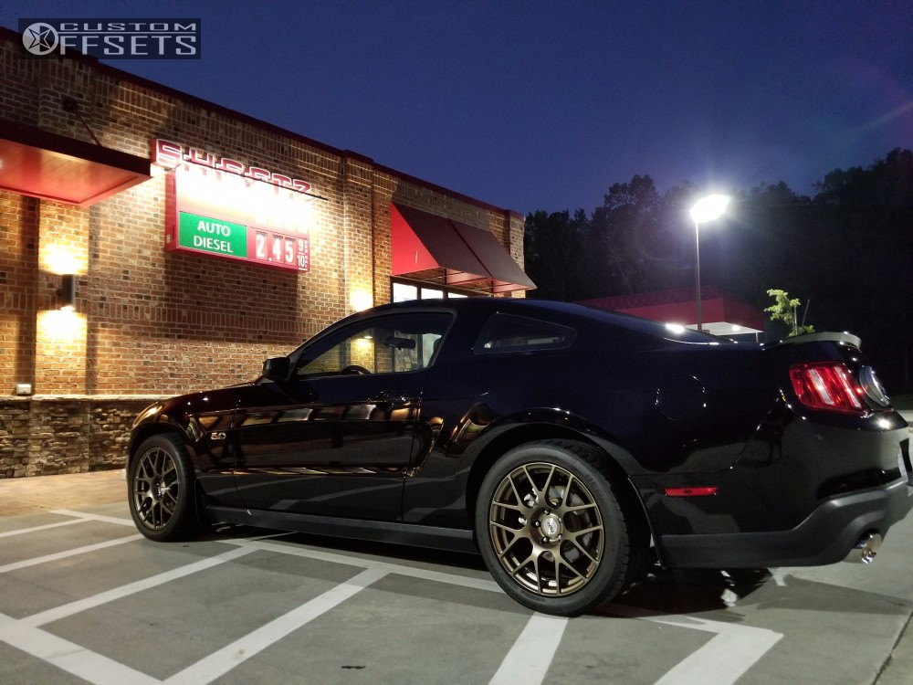 2011 Ford Mustang Tsw Nurburgring Stock Stock | Custom Offsets