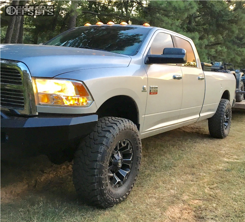 Rough Country 4wd Dodge Ram 2500 3500 Mega Cab 5 Lift: 2012 Dodge Ram 3500 Fuel Assault Rough Country Leveling Kit