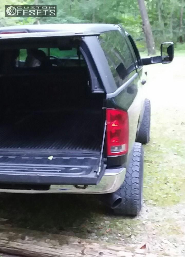 6 2003 Ram 1500 Dodge Rough Country Suspension Lift 5in Moto Metal Mo962 Black