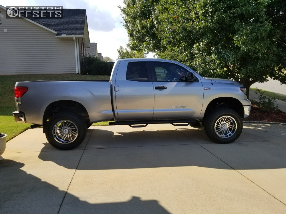 14 2009 Tundra Toyota Fabtech Suspension Lift 6in Hostile Stryker Chrome
