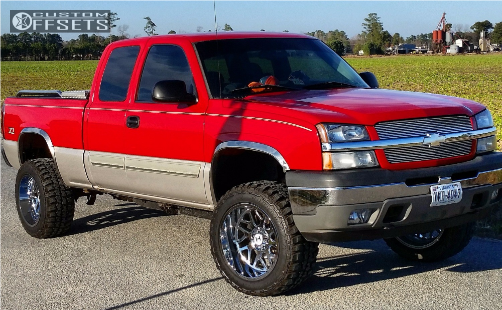 Pro Comp Leveling Kit >> 2005 Chevrolet Silverado 1500 Hostile Sprocket Pro Comp Leveling Kit Body Lift Custom Offsets