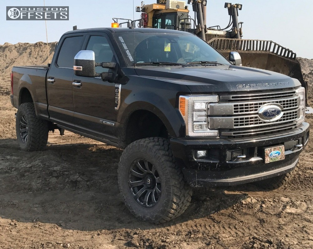 2017 ford f 350 super duty fuel diesel fabtech suspension lift 6in. Black Bedroom Furniture Sets. Home Design Ideas