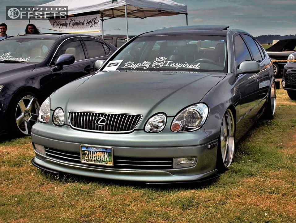 2003 lexus gs300 xxr 968 bc racing coilovers custom offsets. Black Bedroom Furniture Sets. Home Design Ideas
