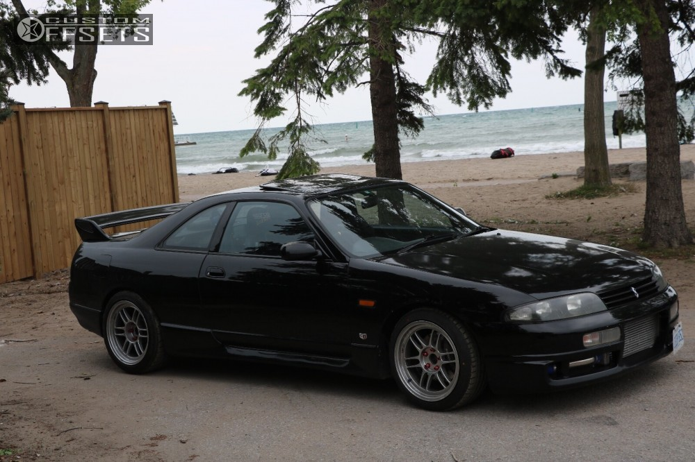 Rt 33 Nissan >> 1993 Nissan Skyline R34 Enkei Rpf1 Bc Racing Coilovers   Custom Offsets