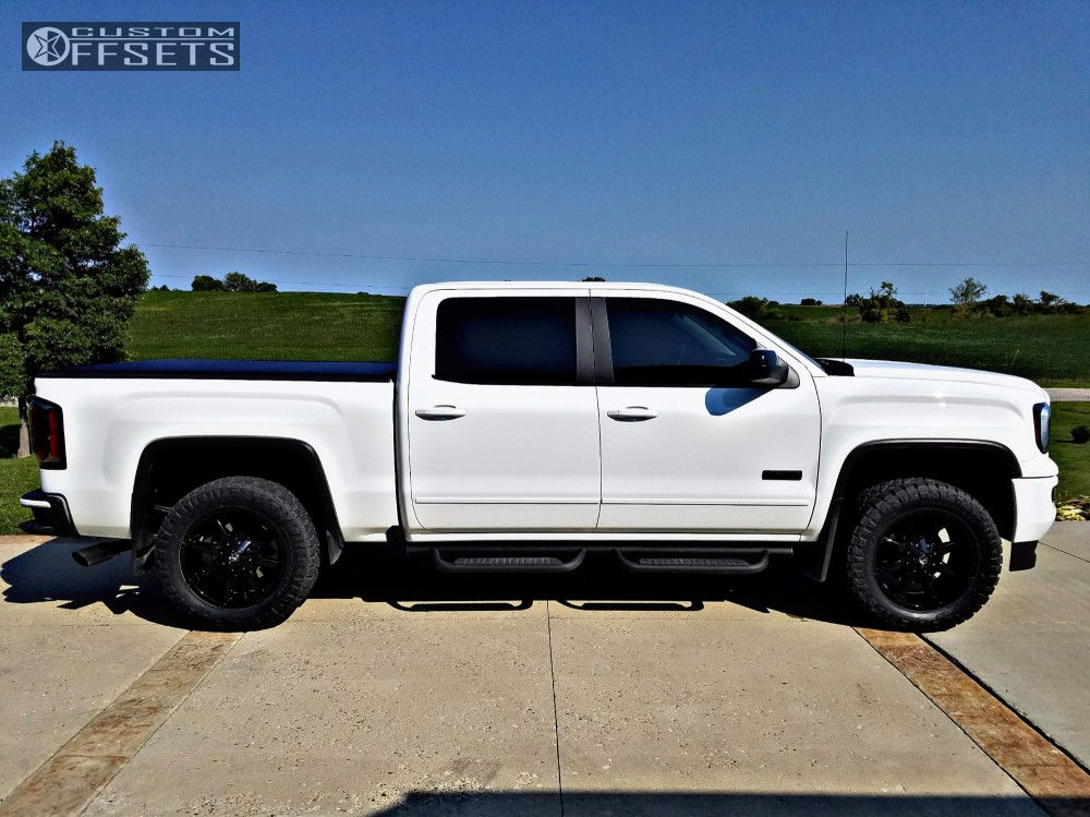 2016 gmc sierra 1500 fuel coupler rough country leveling kit