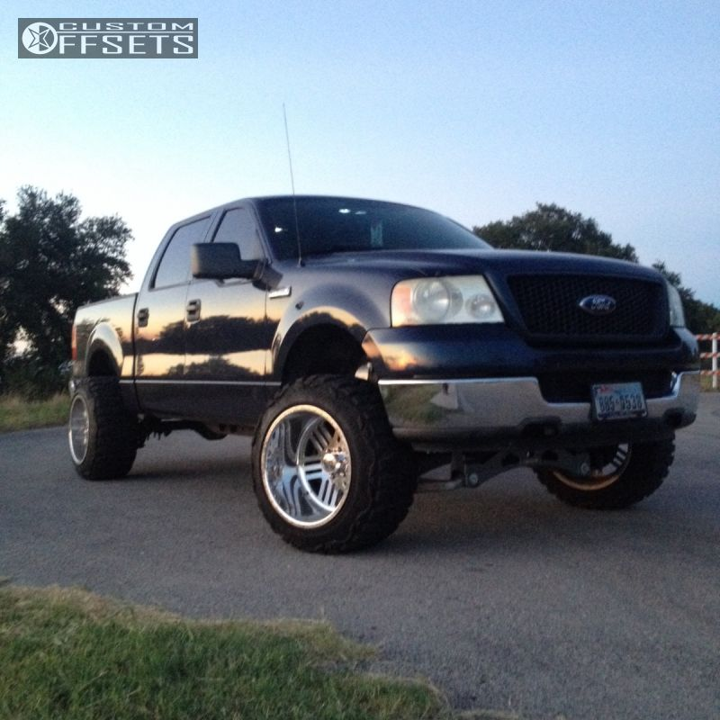 Wheel Offset 2004 Ford F 150 Hella Stance 5 Suspension Lift 6