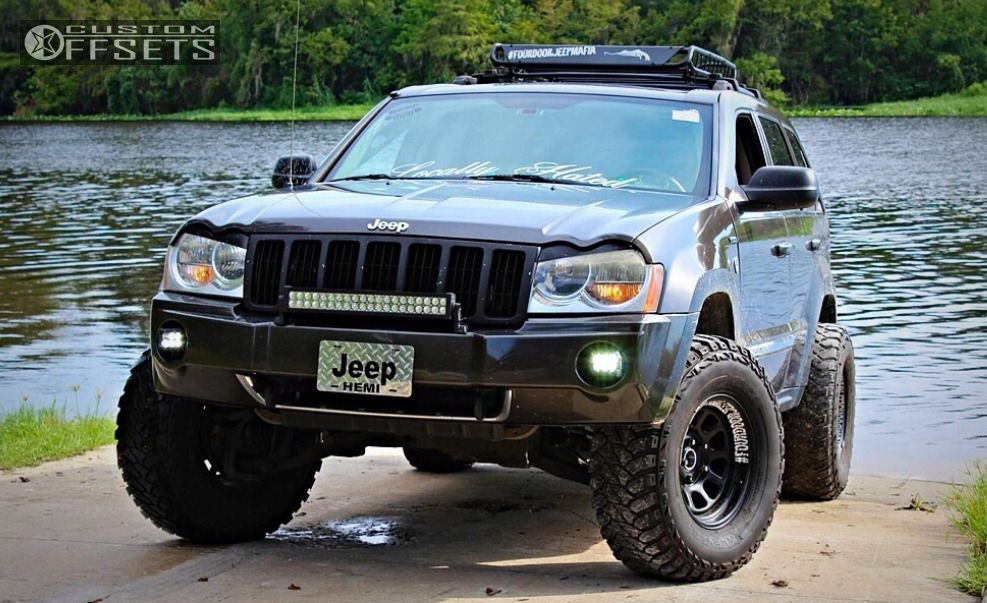 Wheel Offset 2005 Jeep Grand Cherokee Super Aggressive 3 5