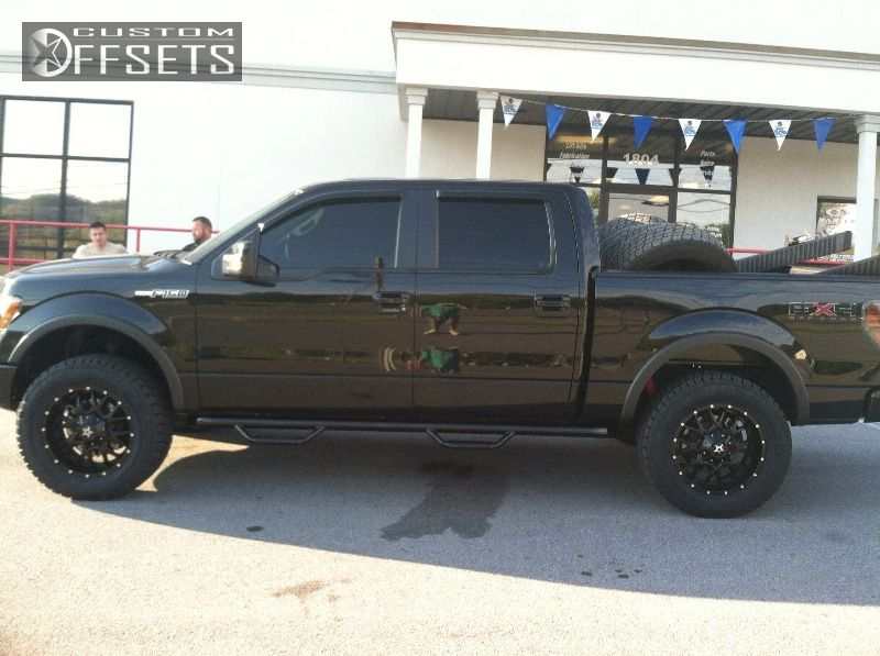 Ford Leveling Kit Dropstars B Black Aggressive  Outside Fender