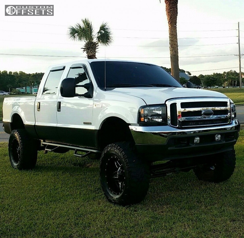 Pro Comp 85 Lift Kit W Es9000 Shocks 99 04 Ford F250 Suspension 2004 F 250 Super Duty Rear 1 8in Fuel Full Blown Machined
