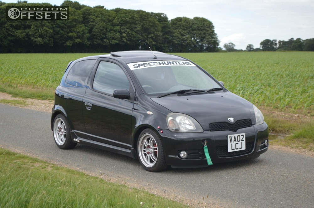 2002 toyota yaris enkei rpf1 bc racing coilovers. Black Bedroom Furniture Sets. Home Design Ideas