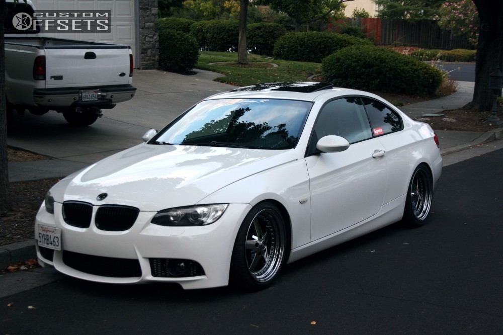 2007 bmw 328i esr sr04 raceland coilovers custom offsets