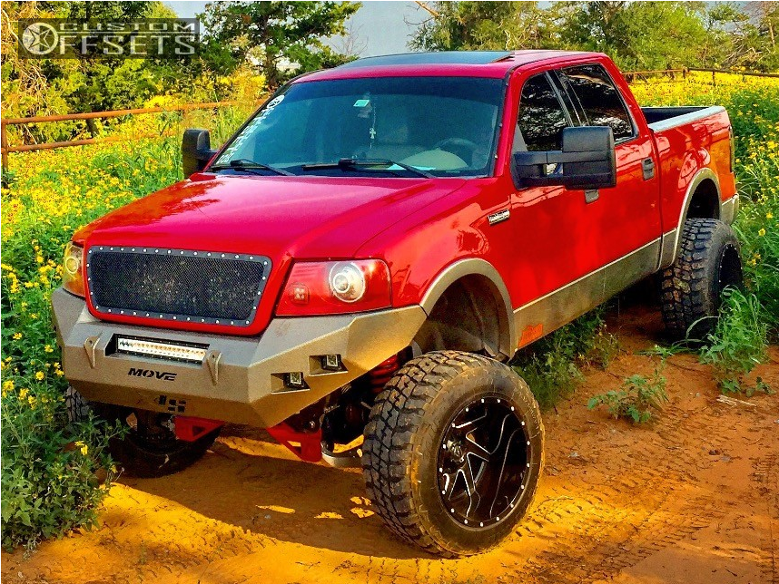 2004 Ford F 150 Fuel Renegade Rough Country Suspension ...