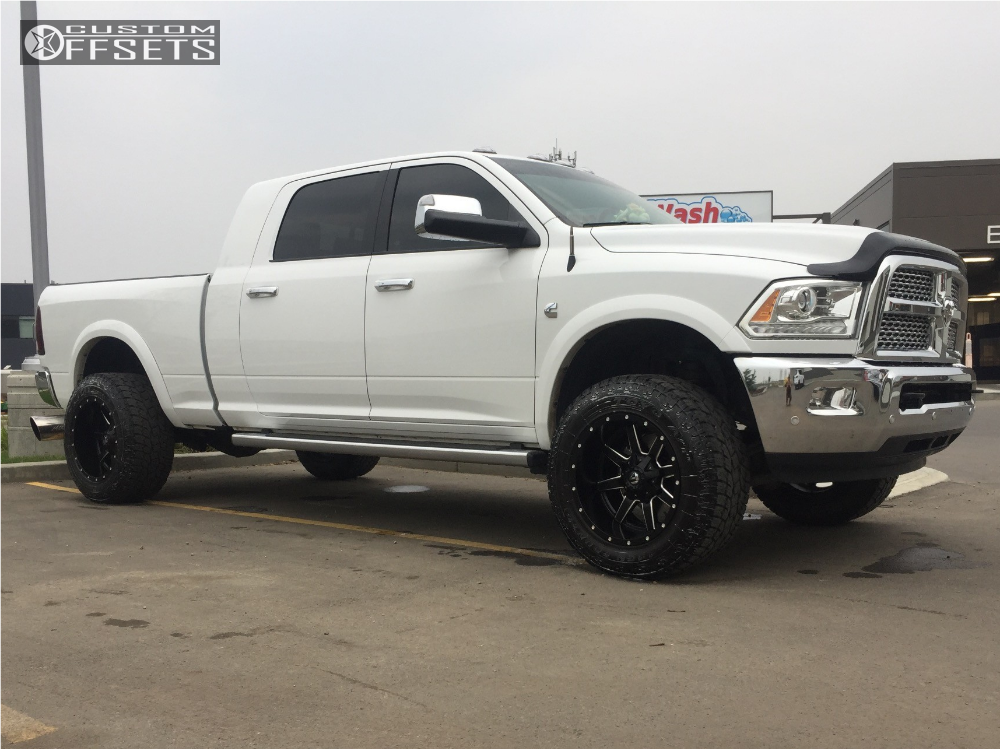 2017 Dodge 3500 >> 2017 Dodge Ram 3500 Fuel Maverick Tuff Country Leveling Kit Custom