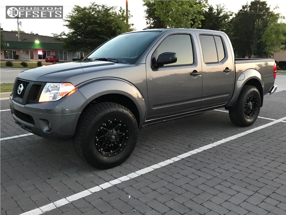 2017 Nissan Frontier Fuel Hostage D531 Prg Leveling Kit Custom Offsets
