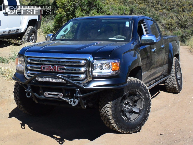 2016 Gmc Canyon Xd Rockstar Ii Icon Leveling Kit