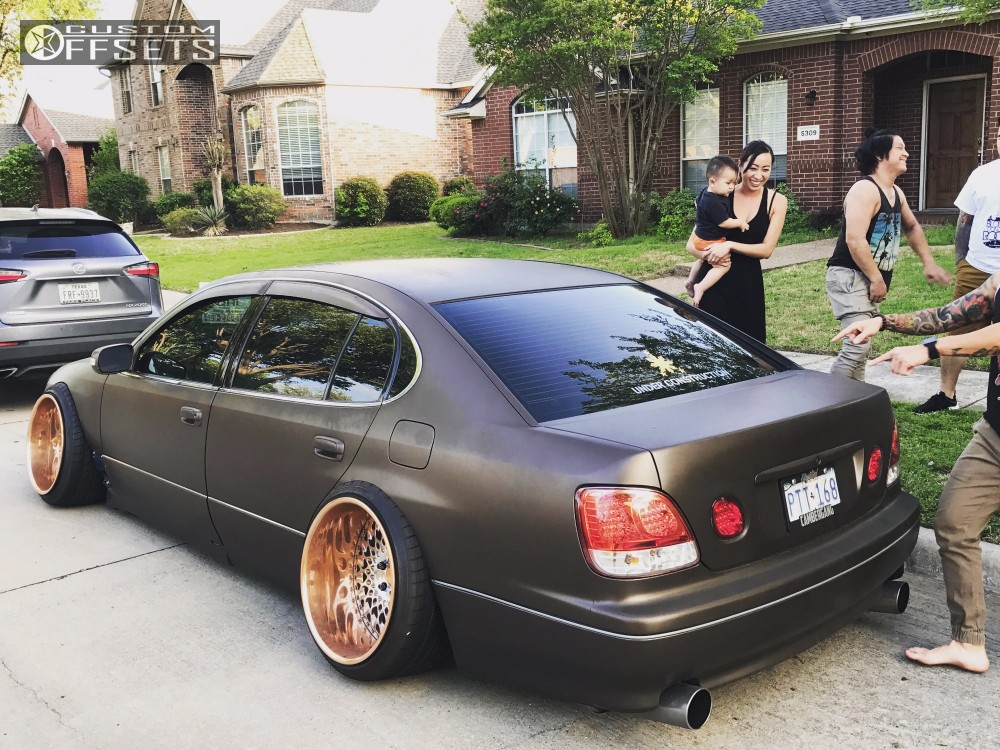 Gs Lexus Airlift Bagged Vip Modular The Wheels Are Damfphammers Wheels Sister Company Of Vip Modular Gold