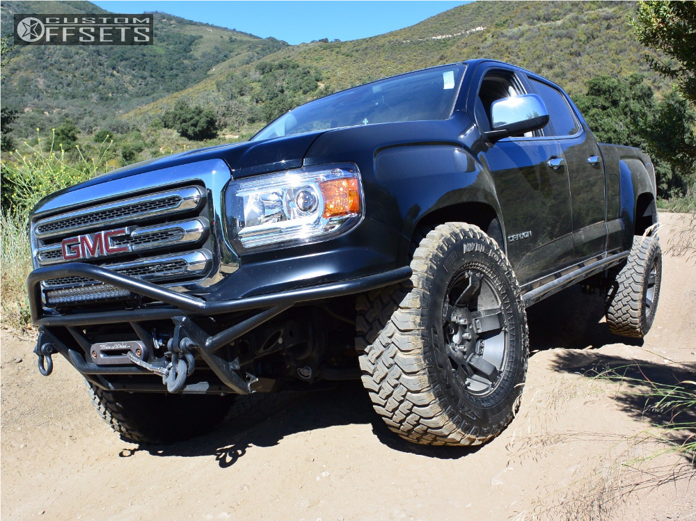 2016 Gmc Canyon Xd Rockstar Ii Icon Suspension Lift 25in
