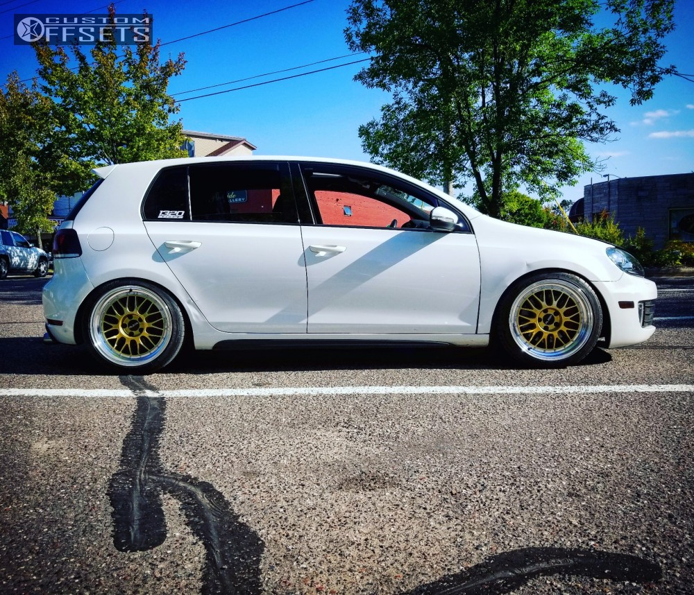 Cooper Rs3 A >> Wheel Offset 2012 Volkswagen Gti Tucked Coilovers