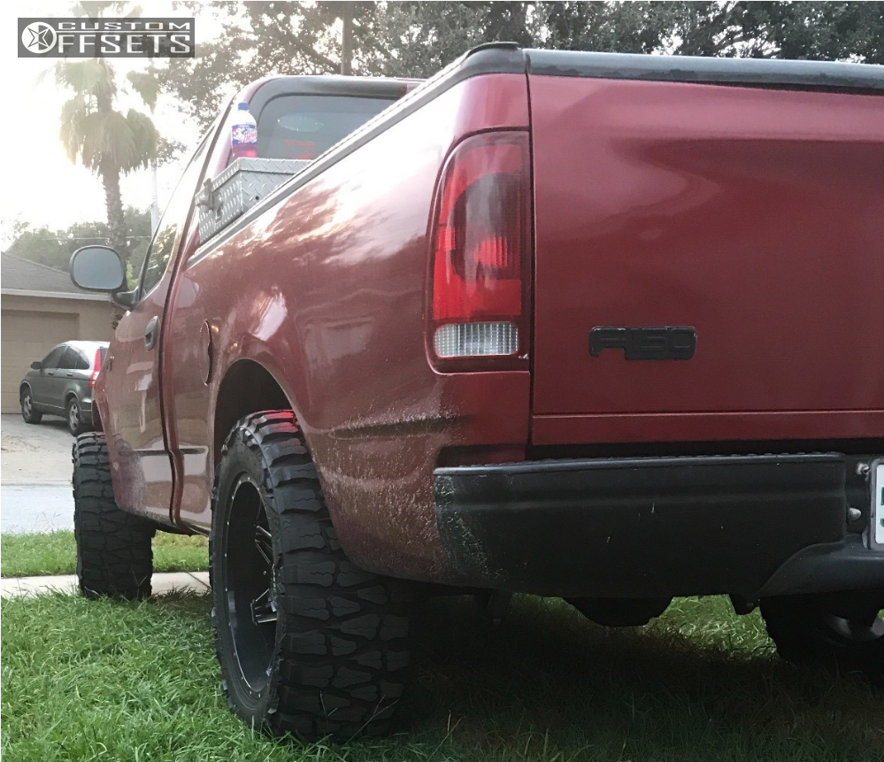 4 2000 F 150 Ford Rough Country Suspension Lift 3in Bold Bd001 Black