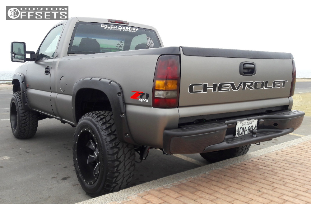 2000 chevrolet silverado 1500 cali offroad distorted rough. Black Bedroom Furniture Sets. Home Design Ideas