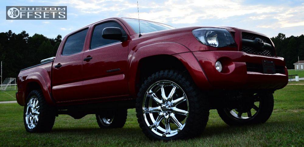 Wheel Offset 2011 Toyota Tacoma Flush Suspension Lift 3 ...