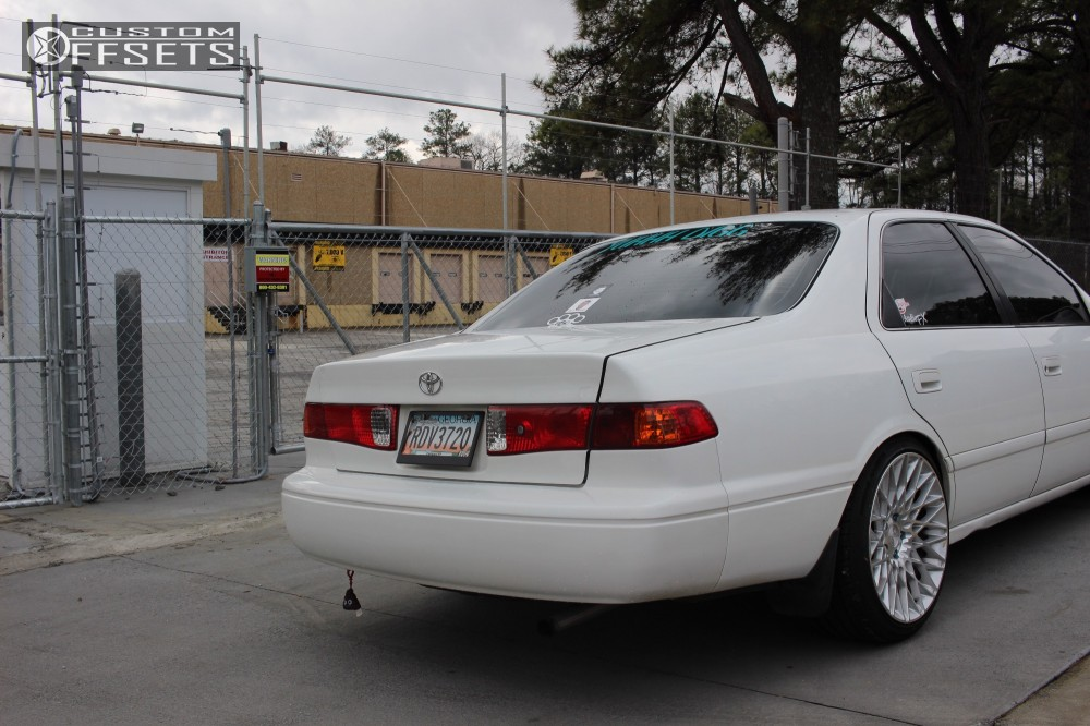 Wheel Offset Toyota Camry Nearly Flush Coilovers - 2001 camry