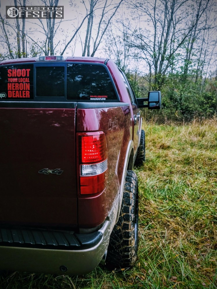 2004 Ford F 150 Mayhem Warrior Rough Country Leveling Kit | Custom