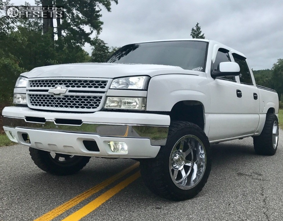 1 2006 Silverado 1500 Chevrolet Rough Country Suspension Lift 3in Gear Alloy Big Block Chrome
