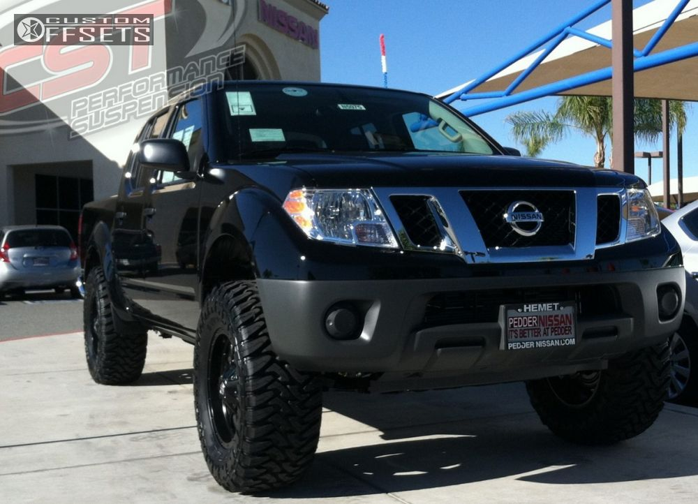 Wheel offset 2015 nissan frontier slightly aggressive suspension 1 2015 frontier nissan suspension lift 4 fuel boost black slightly aggressive aloadofball Choice Image