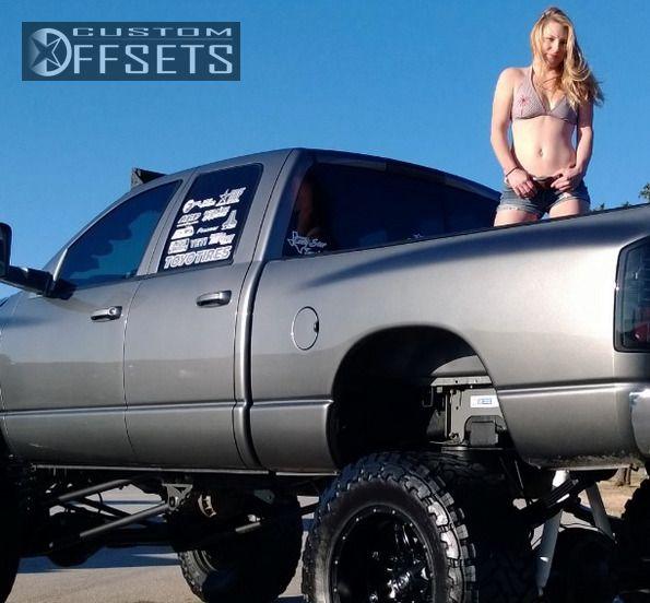 2796 3 2008 ram pickup 2500 dodge suspension lift 9 fuel hostage black super aggressive 3 - Dodge Ram 2500 44 2014