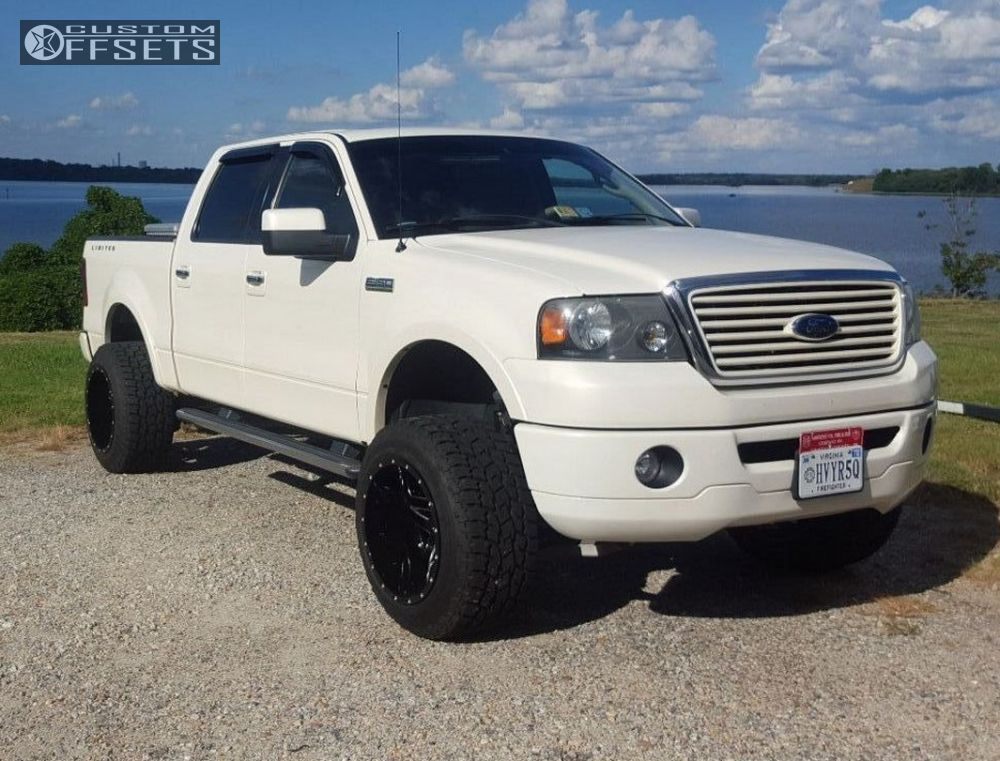 2008 ford f 150 fuel full blown suspension lift 6in. Black Bedroom Furniture Sets. Home Design Ideas