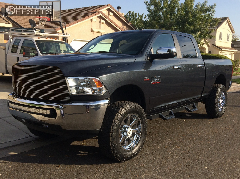 1 2016 2500 Ram Superlift Leveling Kit Hostile Alpha Chrome