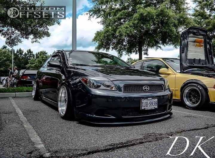 Wheel Offset 2005 Scion Tc Nearly Flush Coilovers Custom Offsets