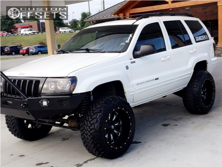 Lifted 2004 Jeep Grand Cherokee >> 2004 Jeep Grand Cherokee Fuel Throttle Rough Country Suspension Lift 4in
