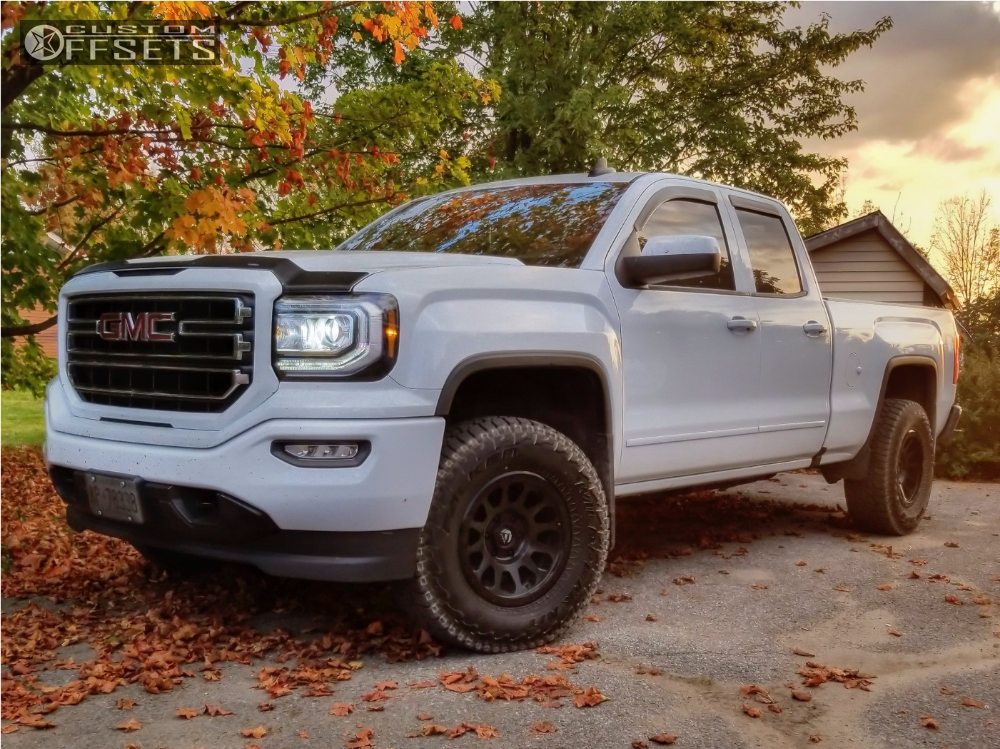 2016 gmc sierra 1500 fuel vector rough country leveling kit. Black Bedroom Furniture Sets. Home Design Ideas