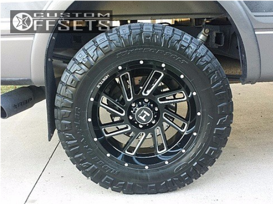 11 2013 F 150 Ford Readylift Leveling Kit Hostile Stryker Machined Accents