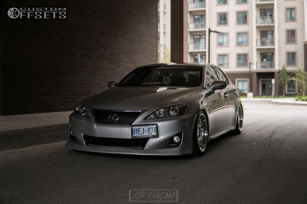 ... 1 2011 Is250 Lexus Raceland Coilovers Esr Sr09 Chrome ...