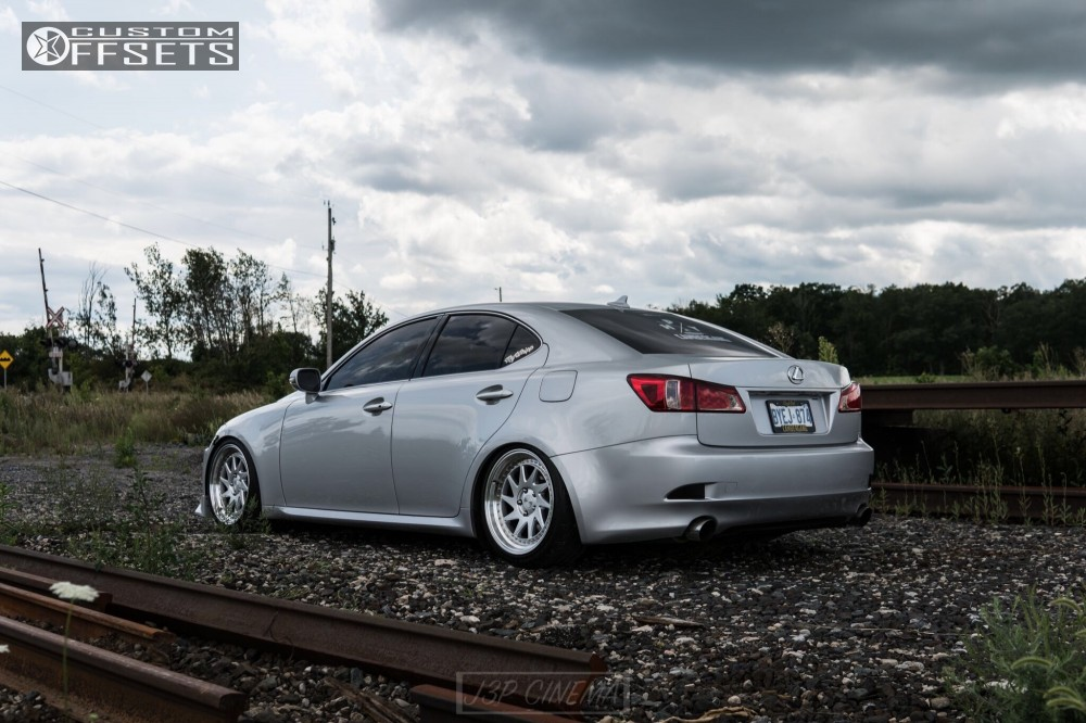 wheel offset 2011 lexus is250 tucked coilovers. Black Bedroom Furniture Sets. Home Design Ideas