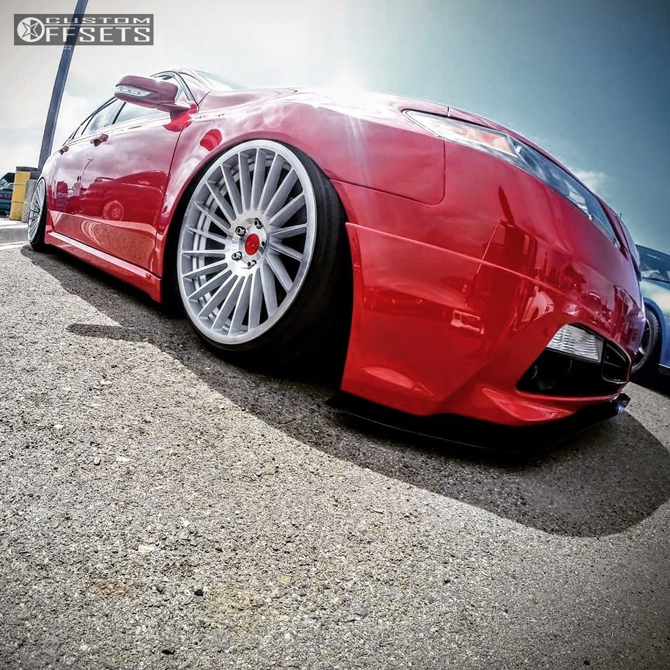 2010 Acura Tl Rotiform Ind T Air Lift Performance Bagged