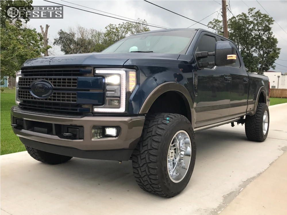 1 2017 F 250 Super Duty Ford Readylift Suspension Lift 25in Hostile Stryker Chrome