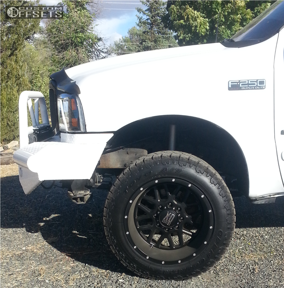 2002 Ford F250 Super Duty Crew Cab Interior: 2002 Ford F 250 Super Duty Xd Xd820 Rough Country Leveling Kit