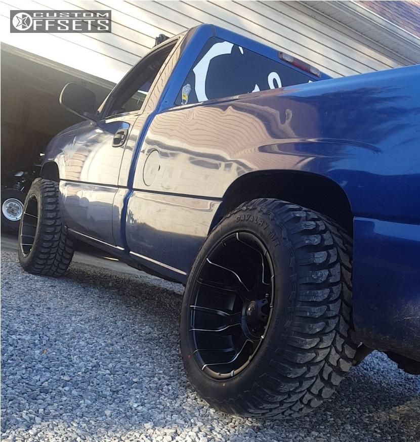 3 2003 Silverado 1500 Chevrolet Oem Leveling Kit Red Dirt Road Lander Black