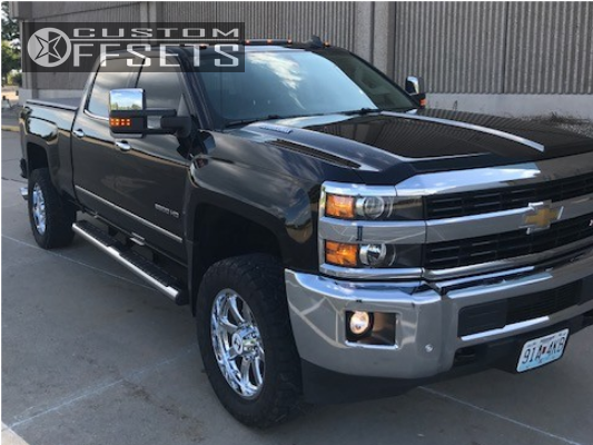 1 2016 Silverado 2500 Hd Chevrolet Zone Leveling Kit Hostile Alpha Chrome